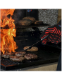 New Shine Heat Resistant, oven Mitts , BBQ gloves , all food gloves , Kitchen Heat resistant gloves ( Kitchen use) , HPPE material