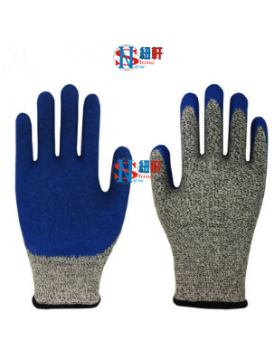 New Shine HPPE Food grade EN388 level 5 cut resistant gloves for kitchen