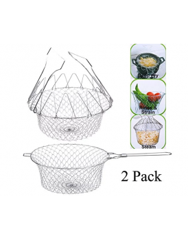 New Shine Magic Kitechen Multifunction Chef Basket - Silver