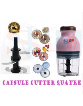 New Shine Capsule Cutter Quatre Mini Electric Multipurpose Food Chopper