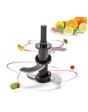 New Shine Capsule Cutter Quatre Mini Electric Multipurpose Food Chopper