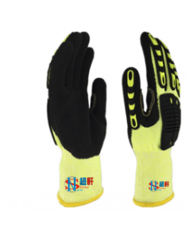 New Shine Shock-absorbing gloves ( use Industry field , Sports , ride a bike , ride a bicycle , carriage and movement , exercise ), HPPE +TPR rubber