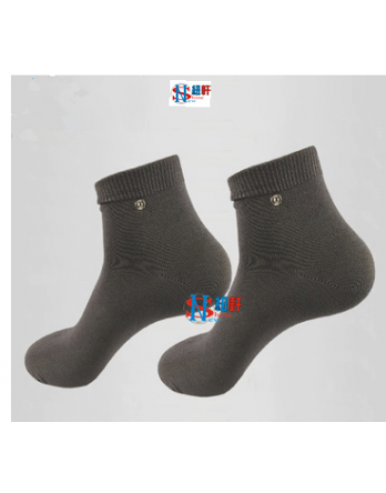 New Shine new type antibacterial conductive physiotherapy foot electric massage socks with silver fiber