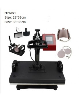 New Shine Hobby Heat Press Machine HP6 in1 Detail Speciation