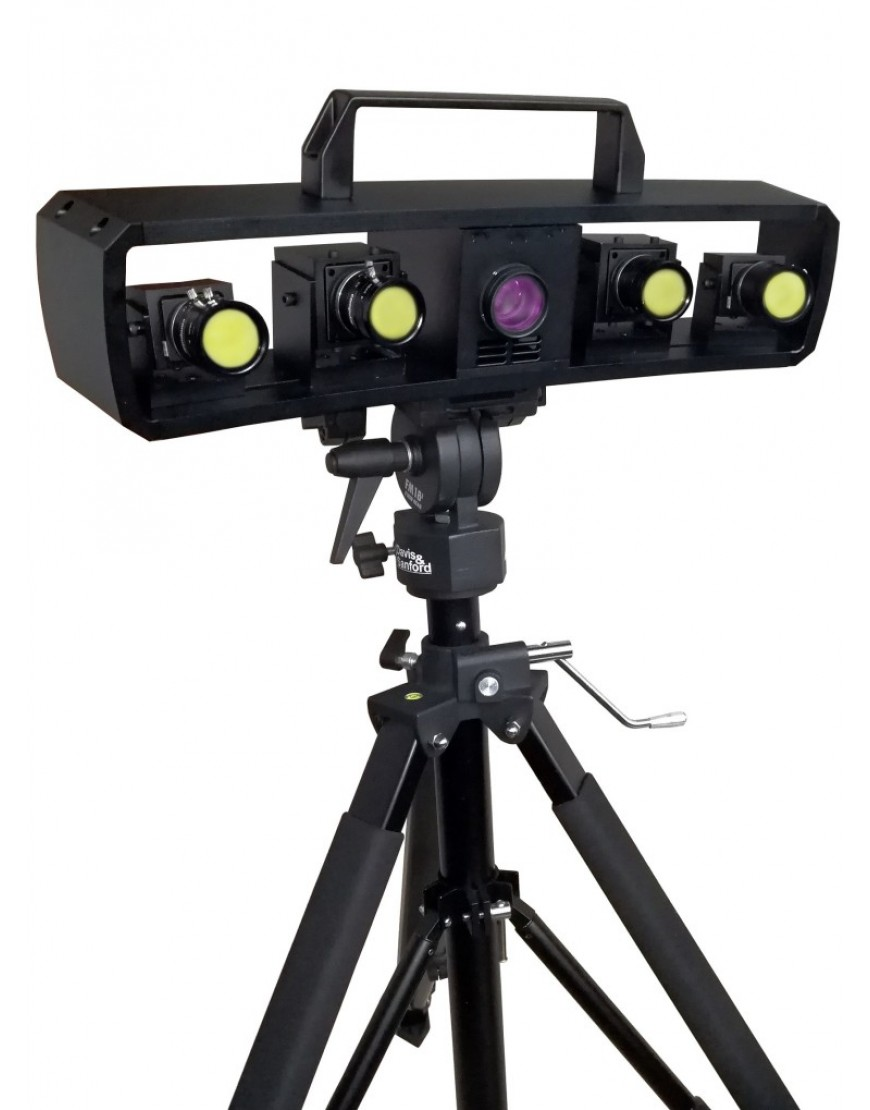 New Shine Blue Light Four eyes 3d scanner Product Details Specifications