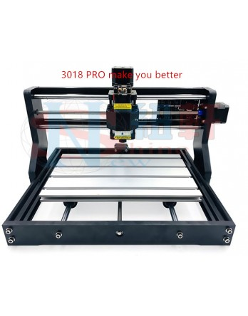 New Shine New release 3018 Pro mini CNC engraving machine, 3-axis pcb milling machine, laser engraving wood engraving machine,  (support offline)