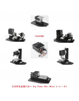 New Shine 6 In 1 Metal mini machine kit Z6000M