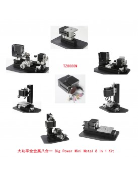 New Shine  Big Power Mini Metal 8 In 1 Kit NS8000M