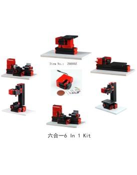 New Shine  6 In 1 Metal mini machine kit in box NS6000Z