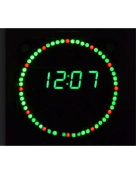 New Shine DIY-Rotating-LED-Electronic-Digital-Clock-Kit
