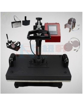 New Shine Hobby Heat Press Machine HP 8 in1 Detail Speciation
