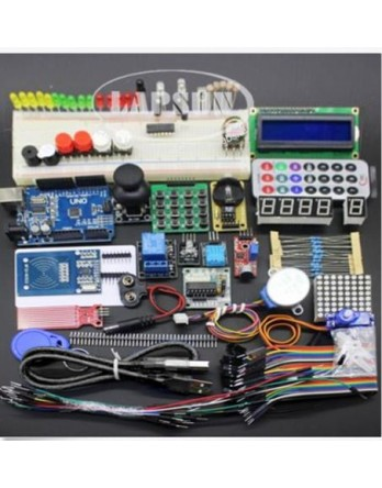 New  Shine  NEW  RFID Starter Kit for Arduino UNO R3 Upgraded version Learning Suite With Retail Box