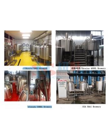New Shine Turn-Key Solution For Craft Brewery equipment  installation