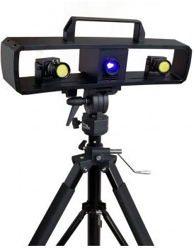 New Shine Blue Light Double Eyes 3d Scanner Product Details Specifications