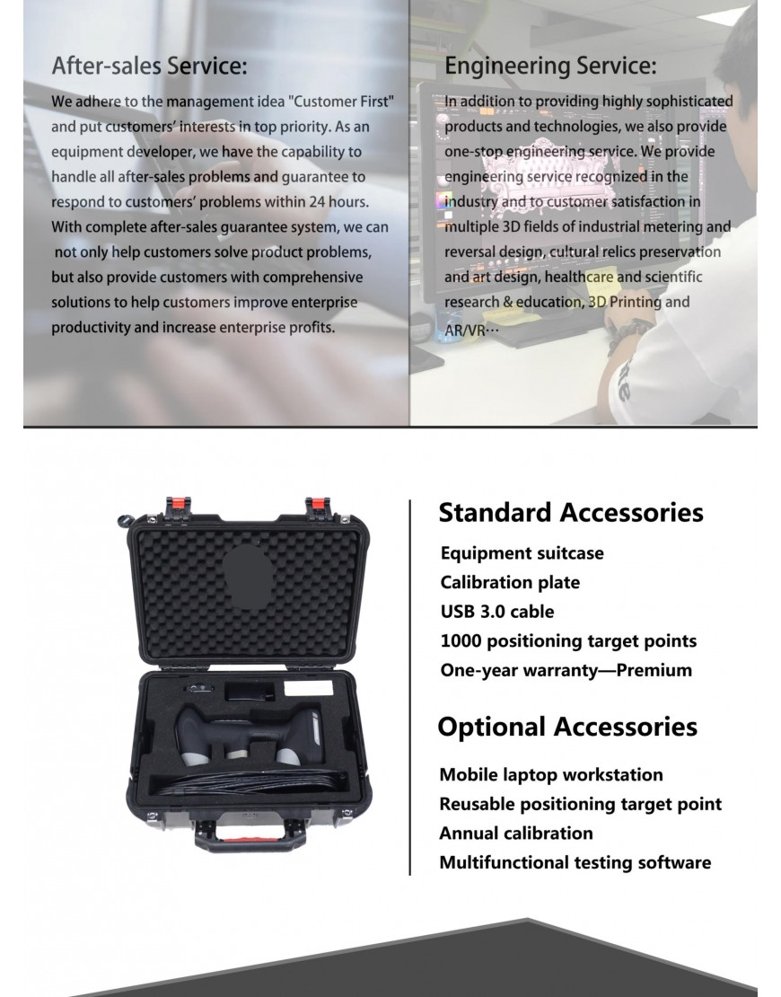 New Shine Handy 3d scanner 6 laser lines + 1 special beam Product