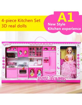 New Shine Girls Music and Light style Kitchen Toys (1)