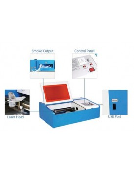 New Shine Mini crafts laser engraver 40W laser stamping machine FOR DIY and hobby users