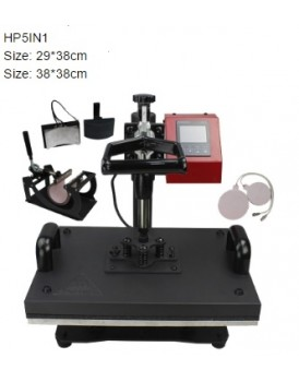 New Shine Hobby Heat Press Machine HP5in1 Detail Speciation