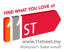 My Malaysia 11 street  Auction website